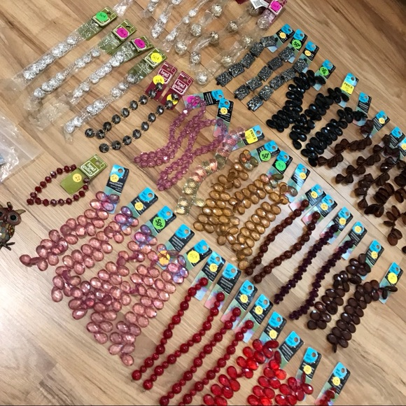 Bead Gallery Jewelry - NWT HUGE 50+ Bead Strands Lot/Bundle!